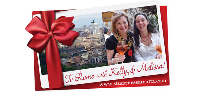 Come to Rome with Kelly and Melissa!