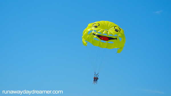 Parasailing in Nice - France