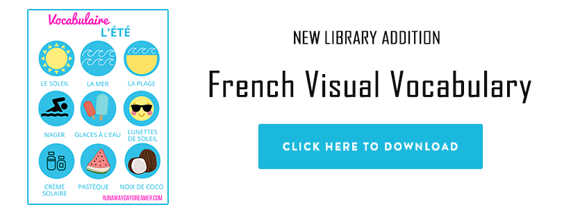 French Visual Vocabulary