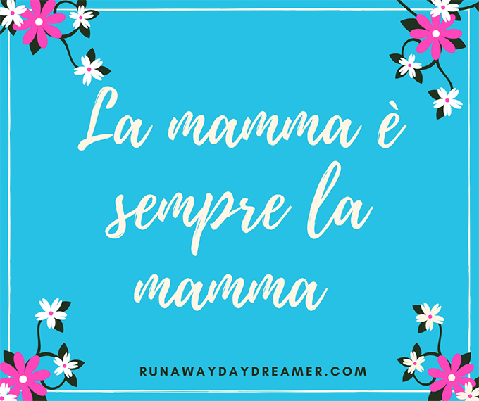 Mother's Day in Italy - Italian Vocabulary
