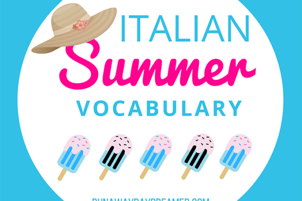 How do you talk about summer in Italian?