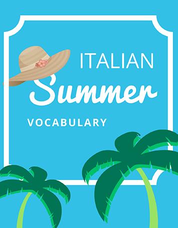 Summer in Italian